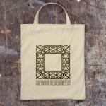 Free cotton bag PSD mockup